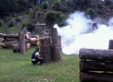 Campo Spinato Paintball a Como 8